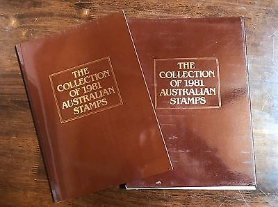 1981 Australia Post YEAR BOOK Stamp Collection