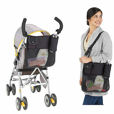 Baby Pram Stroller Car Back Seat Organiser Caddy Storage Accessories Universal
