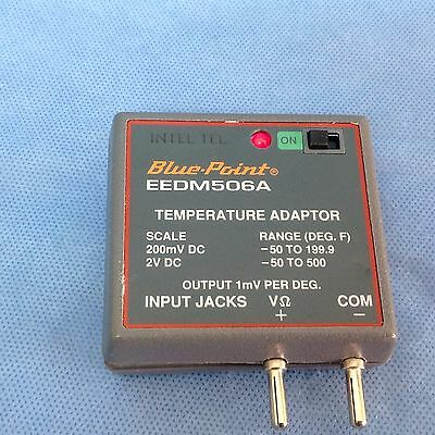 Snap-On Tool Blue Point EEDM506A Temperature Adaptor, K type Thermocouple