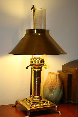 Antique Replica Lamp on Orient Express Train from Paris to Istanbul Made in GB