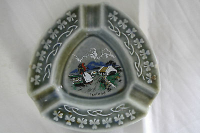 1940s Irish Porcelain Ashtray Made in Ireland