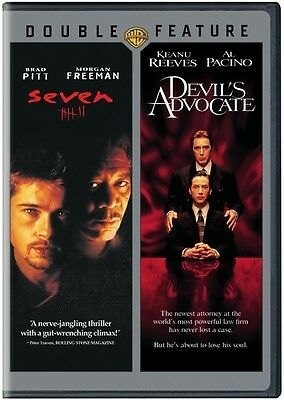 Seven / Devil's Advocate (2016, DVD NUEVO)2 DISC SET (REGION 1)