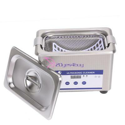Digital Industrial Cleaner Bath Jewelry Ring Timer Ultrasonic Cleaning Equipment