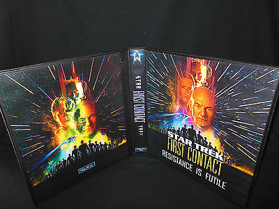 Custom Made Star Trek First Contact Trading Card Binder Graphics Only