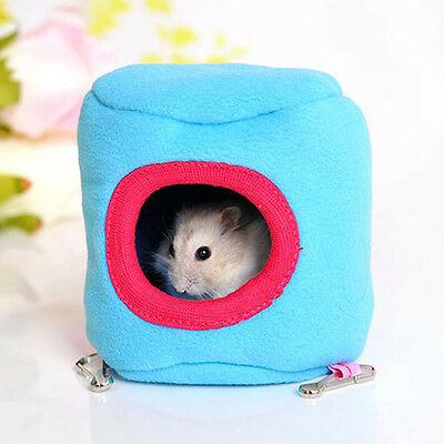 Small Cage Toys Cute Winter Hammock Rabbit Hamster Cage Pet House Hanging Nest