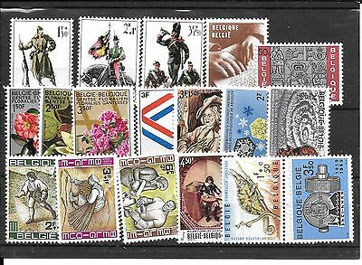 lot timbres Belge   MNH