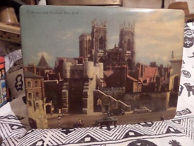 Vintage  Cravens Of York Picture Tin