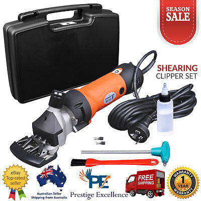 New 350W Electric Sheep Shears Shearing Clipper Shear Goats Supplies Alpaca Farm