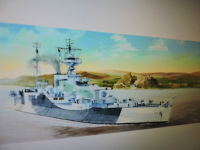TRUMPETER 1/350th SCALE HMS ABERCROMBIE MONITOR   # 05336 A