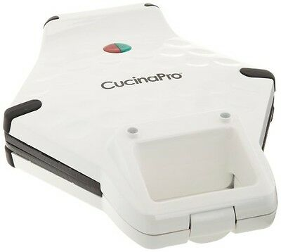 CucinaPro Bubble Waffle Maker by Cucina Pro - Nonstick Iron Creates Bubble