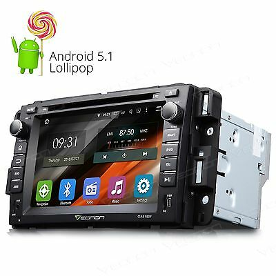 "Android 5.1 7"" Touch Screen O Car DVD Player GPS Navi CD For Chevrolet GMC Buick"
