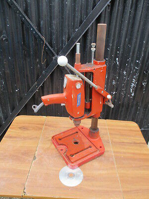 Vintage Acroy  Drill  Stand  Press  &  Arcoy  Buccaneer  Drill