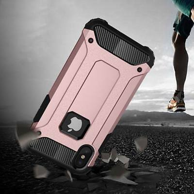 Shockproof Rugged Armor Hybrid Rubber Hard Case Cover For iPhone X 8 6 6S 7 Plus