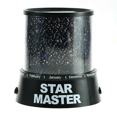 Night Romatic Gift Cosmos Star Sky Master Projector Starry Night Light Lamp LF