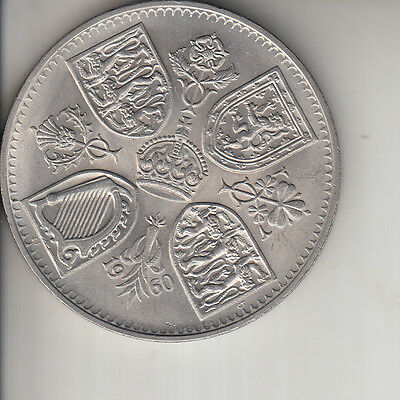 QE II - 1960 CROWN - NEW YORK EXHIBITION ISSUE near mint