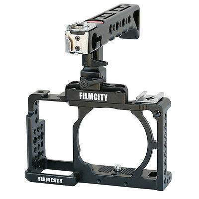 Filmcity DSLM camera cage for Sony alpha A6000 A6300 ILCE-6000 6300