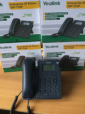 5 x Yealink SIP-T19P E2 HD 1 Line / 1 Account, SIP / VoIP IP Phone