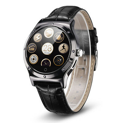 Smart Wrist Watch Heart Rate Monitor Pedometer for Android iPhone Samsung Gold