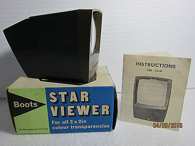 Portable Boots Colour Slides Viewfinder (Grey) ...In Box...