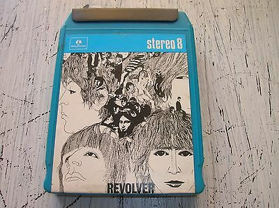 stereo 8 the Beatles Revolver 8-Track Cartridge -Parlophone – 3C344-04097 mint