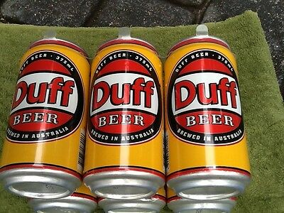 Original Duff Beer 6 Pack Near New Condition
