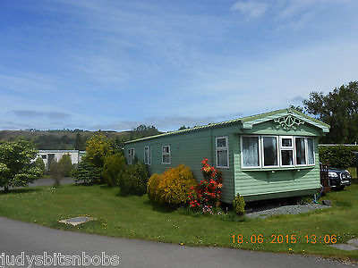 Static Caravan Holiday Home For Sale - Sited Mid Wales Banwy Valley