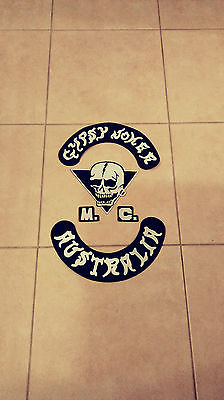 Gypsy Joker motorcycle club  Patch set 1%er HA, 81 Outlaws, Mongols,
