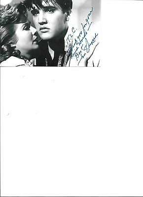 Jan Shepard -American actress.movies from 1952-73 - Autographed 4x6  photo