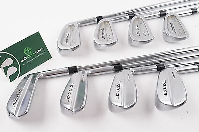 Miura Cb-201 Blade Combo Forged Irons / 3-Pw / Stiff Project X 6.0 Steel / 55981