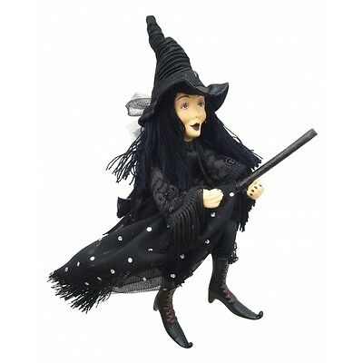 Witches of Pendle - Zilla Goth Witch Hanging (Black) 24cm