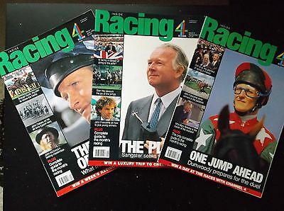 """inside Racing"" 10 Off Issues 1 To 10 (June 1994 To June 1995)"