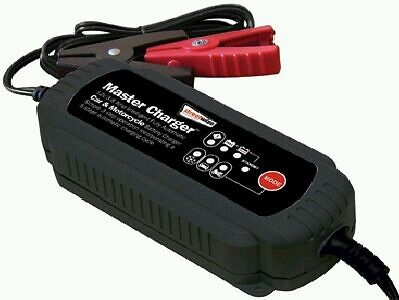 Streetwize 12v 3.8 amp car and motorcycle battery charger