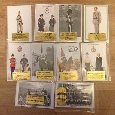 #51 - Mixed lot of 10 x Military Postcard Sets
