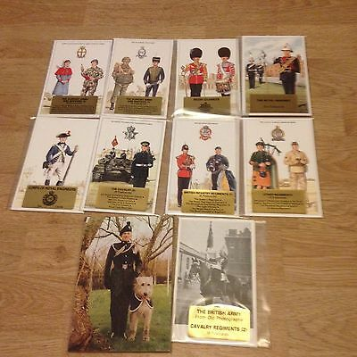 #57 - Mixed lot of 10 x Military Postcard Sets