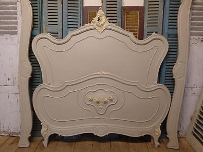 CLASSIC ANTIQUE FRENCH BED IN FARROW & BALL - MORE IN OUR EBAY SHOP - fd11