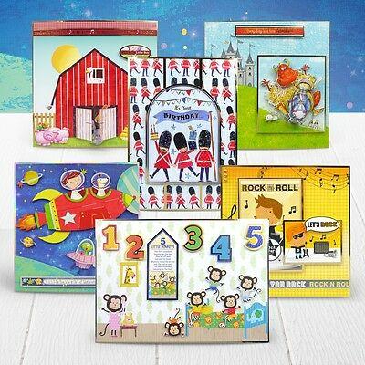 Pick of the SALE -BRAND new LUXURY CARD making KIT Hunkydory new DUDE DELIGHT 2