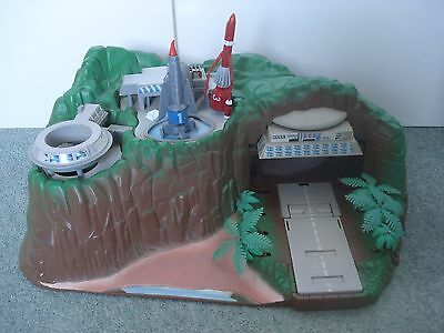 Vintage Tracy Island - Thunderbirds toy - with lights & sound