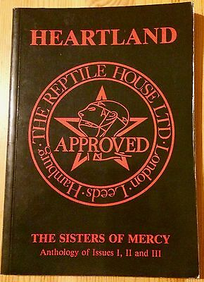 The Sisters Of Mercy-Heartland Fanzine-Anthology Of Issues 1,2 And 3- Super Rare