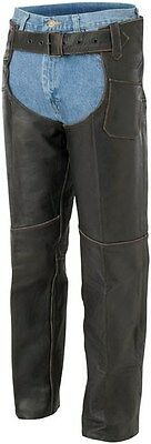 River Road Vintage Women's Motorcycle Chaps Size 12 09-1813 091813
