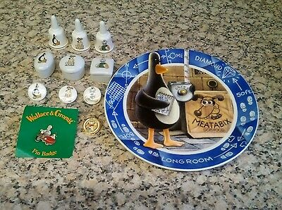 Wallace and gromit mixed lot
