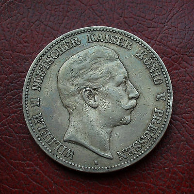 Germany-Prussia 1904A silver 5 marks