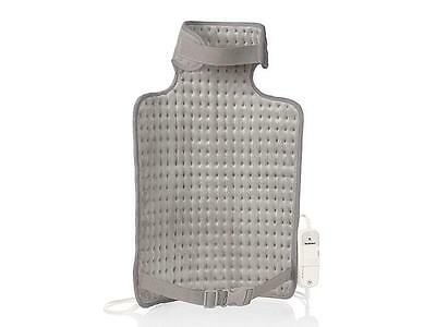 Electric Heated Heat Pad Back Neck Warmer Grey 6 Settings Same/Next Day Dispatch