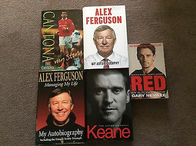 Manchester United Autobiography Books