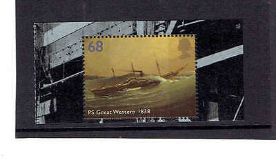 GB 2006 Brunel stamp from Booklet DX36. SG2614  UnMounted Mint