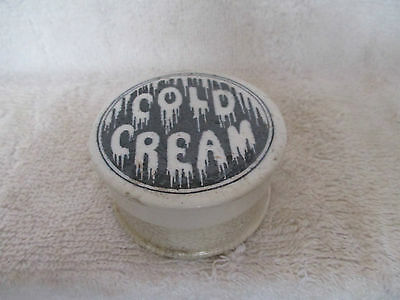 Cold Cream Lid And Base