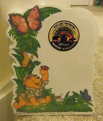 ** Disney Animal Kingdom Safari Pooh Die-Cut Note Pad **