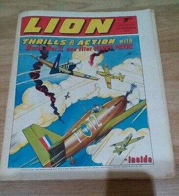 LION COMIC  ISSUE 5th Sept 1970 - 7d