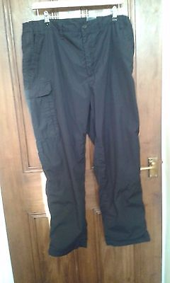 Mens Craghoppers Thermal Lined Trousers 38 W x 31 L