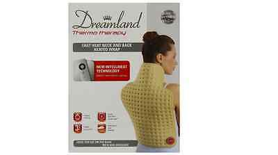 Dreamland Thermo Therapy Heated Neck and Back Wrap, 52 x 38 cm