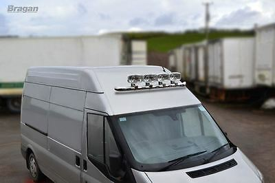 2007 - 2014 Ford Transit MK7 Front Medium / High Roof Light Van Bar with LEDs